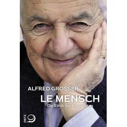 Le Mensch: Buch von Alfred Grosser