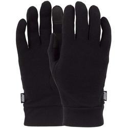 Handschuhe POW - Merino Liner Black (BK)