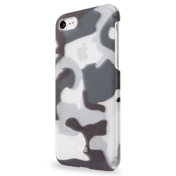 Apple iPhone SE 2020 / 8 / 7 Hülle Artwizz Schwarz Cover/Schale Camouflage