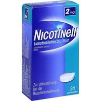 Novartis Nicotinell Mint 2 mg Lutschtabletten 36 St.