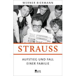 Strauß als Buch von Werner Biermann