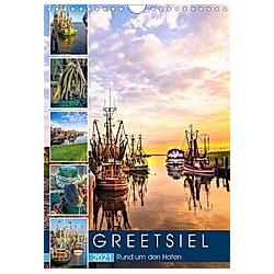 GREETSIEL Rund um den Hafen (Wandkalender 2021 DIN A4 hoch)