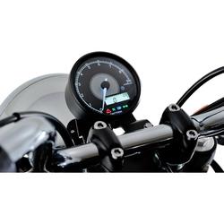 Daytona Cockpit Velona Ø80mm mit RPM bis 9000 U/min schwarz