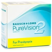 Bausch + Lomb PureVision2 for Presbyopia 6 St. / 8.60 BC / 14.00 DIA / -1.00 DPT / High ADD