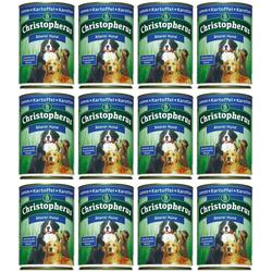 Christopherus Hundenassfutter Älterer Hund, 12 Dosen á 400 g oder 12 Dosen á 800 g braun 12 Stk.