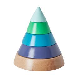 Vertbaudet Stapelpyramide aus Holz