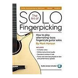The Art of Solo Fingerpicking  Gitarre. Mark Hanson  - Buch