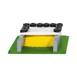 Siku Spielzeug-Auto Fahrsilo mit Plane und Reifen 1:50