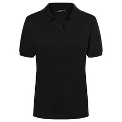 Poloshirt Classic   James & Nicholson schwarz XXL