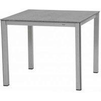 MWH Das Original Elements Gartentisch 90 x 90 cm grau