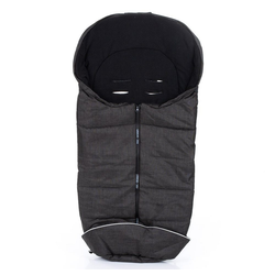 ABC Design Fußsack Piano, Winter - Fußsack Baby für Kinderwagen und Buggy