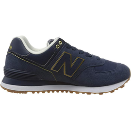 NEW BALANCE WL574 Wabi Sabi natural indigo/gold 36,5