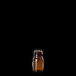 30 ml Verpackungsflasche - Braunglas - PP 28