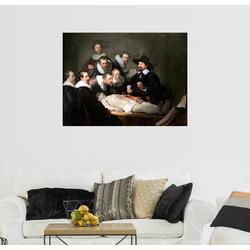 Posterlounge Wandbild, Die Anatomie des Dr. Tulp 90 cm x 70 cm