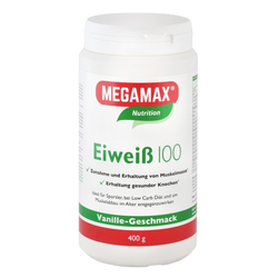EIWEISS 100 Vanille Megamax Pulver 400 g