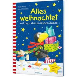 Der kleine Rabe Socke: Alles weihnachtet mit dem kleinen Raben Socke als Buch von Nele Moost