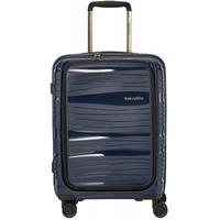 Spinner Cabin 4-Rollen Front Pocket 55 cm / 43 l dunkelblau