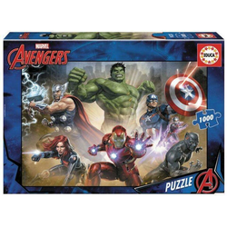 Carletto Puzzle Educa - Marvel Avengers 1000 Teile Puzzle, Puzzleteile