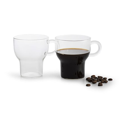 Sagaform Glastasse 2 Stk Klar 25 cl