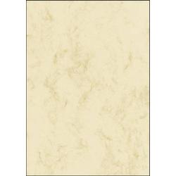 Sigel DP397 Motivpapier Marmor DIN A4 200 g/m² Beige 50 Blatt
