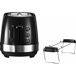 4 Stück DeLonghi Toaster CTLA 2103.BK sw