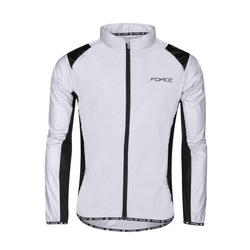 FORCE Fahrradjacke Hoch Reflektierend Jacke, Sport, Jogging, Fahrrad L