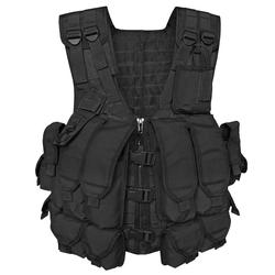 Mil-Tec Kampfmittelweste AK74 mit 12 Taschen schwarz