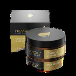 Nanoil Charcoal & White Clay Hair Mask 300 ml