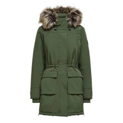 ONLY Parka Coat Damen Grün Female S