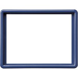 Gira 093446, Abdeckrahmen 2f-Steckd. S-Color Blau
