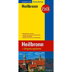 Falk Plan Heilbronn - Buch