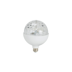 Briloner LED-Leuchtmittel Disco in rund / E27, 12,5 cm