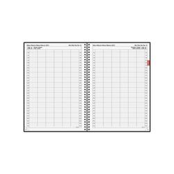 BRUNNEN Buchkalender, für 2021, 1 Seite = 1 Tag (auch Sa und So)