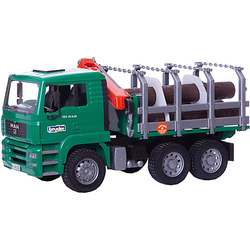 BRUDER 02769 TPS MAN Holztransporter-LKW
