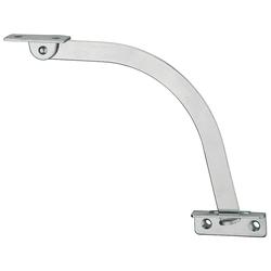 Öffnungsbegrenzer, aus Stahl, Länge 150 mm, Anschlag links