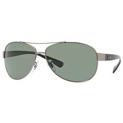 RAY BAN Sonnenbrille RB3386 grau XL