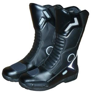 Protectwear Tourenstiefel SB-11026 aus schwarzem Leder u.a. zum Motorradfahren geeignet Größe 44