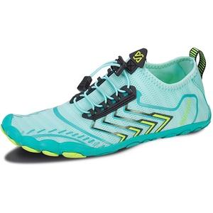 IceUnicorn Barfußschuhe Herren Damen Zehenschuhe Aquaschuhe Fitness Schuhe Strandschuhe Straßenlaufschuhe Wasserschuhe(ZB Mond, 39EU)