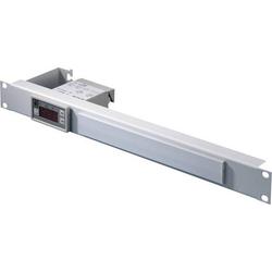 Rittal 7109035 19 Zoll Netzwerkschrank-Temperaturregler 1 HE Lichtgrau (RAL 7035)