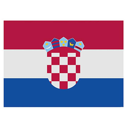 Flagge Kroatien 90x150cm mit Befestigungsösen