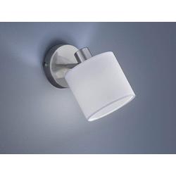 TRIO LED Wandstrahler, dimmbarer Licht-Spot Strahler rund 1-flammig für Wand & Decke Retro Decken-Strahler schwenkbar Rund