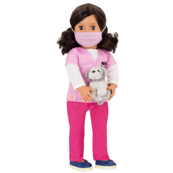 OG-Puppe Paloma Tierärztin 46 cm