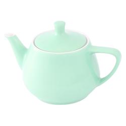 Friesland Porzellan Teekanne Friesland Teekanne 0,85l Pastellgrün Utah Teapot P, 0,85 l, Made in Germany