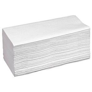 Papierhandtücher Naturell Zick-Zack-Falzung 1-lagig