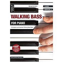 Walking Bass for Piano. Michael Gundlach  - Buch