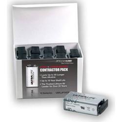 Ultralife U9VL-J-P 6LR61 9V Block-Batterie Lithium 1200 mAh 9V 10St.