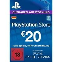 Sony PSN Guthaben-Aufstockung 20 EUR (DE)