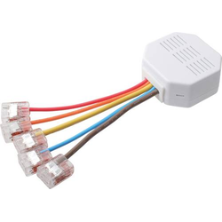 LUPUSEC ZigBee Aktor Unterputzrelais mit Stromzähler