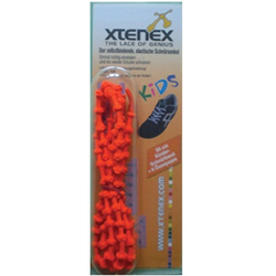 XTENEX Kids Schnürsenkel 50 cm orange