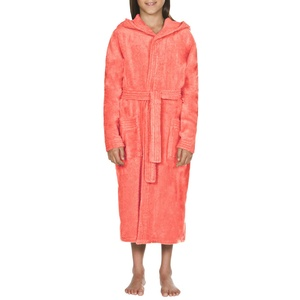 ARENA Unisex Kinder Bademantel Core Soft Robe Junior, Pale-Rose White, 140